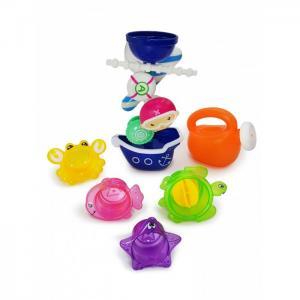 Набор игрушек для ванной Пират с Мельницей, Лейкой и Формочками ЯиГрушка