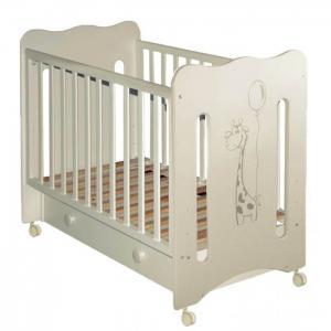 Детская кроватка  Laluca Руслана Жирафик с ящиком Можгинский лесокомбинат