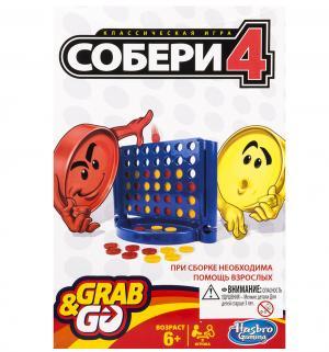 Дорожная игра  Собери 4 Hasbro Games