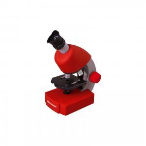 Микроскоп  Junior 40x-640x, красный Bresser
