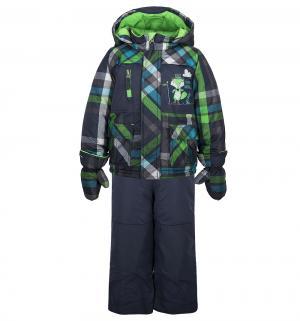 Комплект куртка/брюки Peluche&Tartine, цвет: синий Peluchi&Tartine