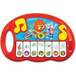 Интерактивная игрушка  Пианино Волшебные нотки 22 см Азбукварик