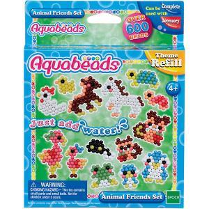 Мозаика из бусин Aquabeads Забавные животные, 600 Epoch Traumwiesen