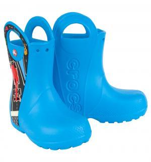 Резиновые сапоги  Handle It Graphic Boot K Ocean, цвет: синий Crocs