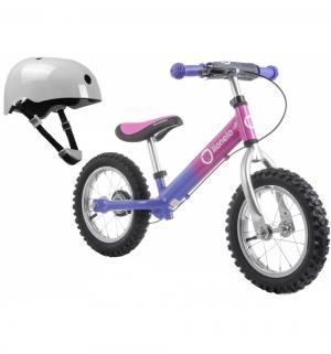 Беговел  Dex plus + шлем в подарок, цвет: pink cameleon Lionelo