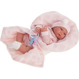 Кукла  Антония в розовом, 40 см Munecas Antonio Juan. Цвет: розовый
