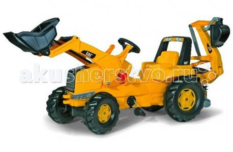 RollyJunior CAT Backhoe-Loader Rolly Toys