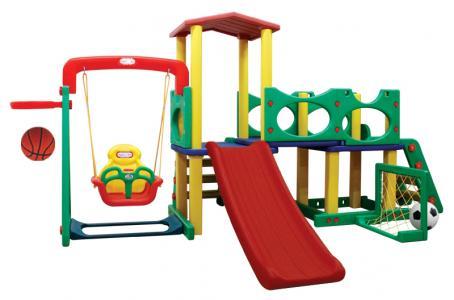Детский игровой комплекс для дома и улицы JM-731CD Happy Box