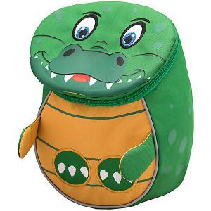 Рюкзак  Mini Animals Крокодильчик Belmil. Цвет: зеленый