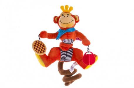 Подвесная игрушка  Спиралька Обезьянка Biba Toys