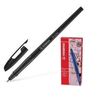 Ручка шариковая  Re-Liner 0.38 мм черный Stabilo