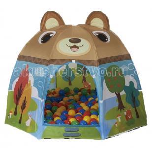 Игровая палатка с шарами Мишка Calida