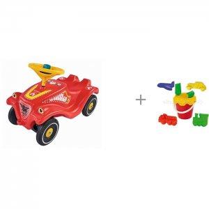 Каталка  Детская Bobby Car Classic Fire Fighter и Альтернатива (Башпласт) Набор Путешествие BIG