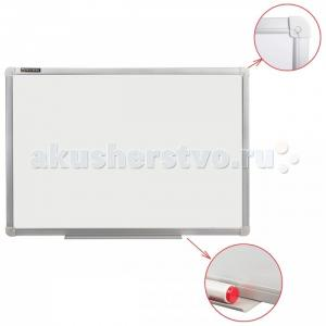 Доска магнитно-маркерная стандарт алюминиевая рамка 100х150 см Brauberg
