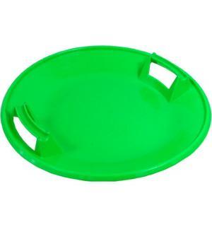 Ледянка  Тобоган, цвет: зеленый Пластик
