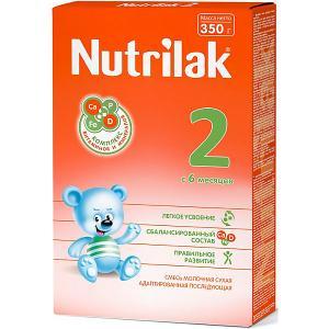 Молочная смесь  2, с 6 мес, 350 г Nutrilak