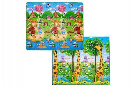 Игровой коврик  Деревенские истории и Жираф 200х180х1 см BabyPol