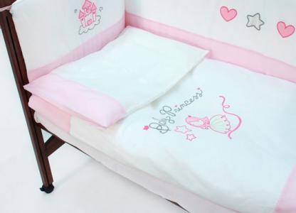 Комплект в кроватку  Princess 120x60 (5 предметов) Funnababy