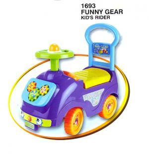 Каталка детская , цвет: фиолетовый Kids Rider