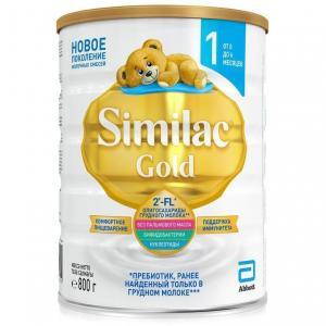 Молочная смесь  Gold 1 0-6 месяцев, 800 г Similac