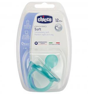 Пустышка  Physio Soft Ортодонтическая силикон, с 12 мес Chicco