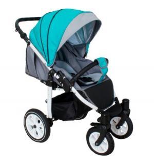 Прогулочная коляска  Eos, цвет: бирюзовый/светло-серый Camarelo