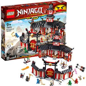 Конструктор  Ninjago 70670: Монастырь Кружитцу LEGO