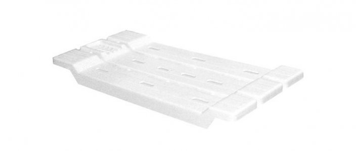 Полка-сиденье для ванны Альтернатива (Башпласт)