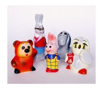 Игрушки Винни и его друзья (5 персонажей) Кудесники