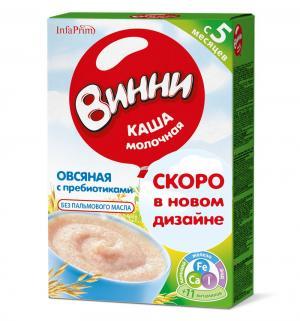 Каша  молочная Овсяная с 5 месяцев 200 г 1 шт Винни