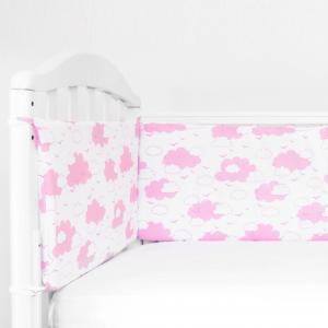 Бортик в кроватку  Облака Baby Nice