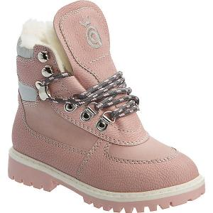 Ботинки для девочки Betsy Princess. Цвет: розовый