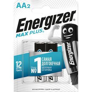 Батарейки алкалиновые  Max Plus, тип АА/LR6, 1,5 V, 2 шт Energizer