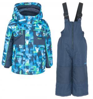 Комплект куртка/полукомбинезон , цвет: голубой/синий Zingaro By Gusti