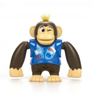 Интерактивная игрушка  Ycoo nFriends Обезьяна Чимпи, цвет: синий 15 см Silverlit