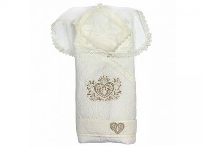 Конверт-одеяло на выписку Александра зима Топотушки