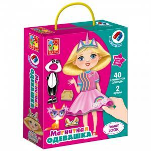 Магнитная игра одевашка Family look Vladi toys
