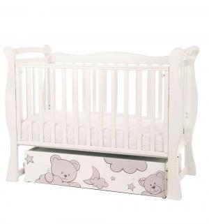Кровать  Sweet Bear, цвет: слоновая кость Amarobaby