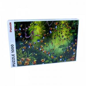 Пазлы Франсуа Рюйер Птицы в джунглях (1000 элементов) Piatnik