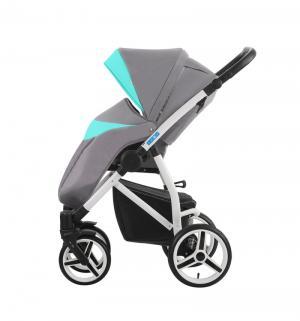 Прогулочная коляска  Medio, цвет: серый/бирюзовый Aroteam