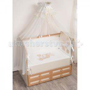Комплект в кроватку  Грибочек (7 предметов) Селена (Сдобина)
