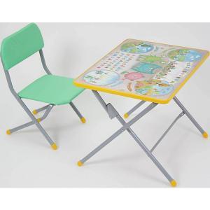 Комплект детской мебели Фея Досуг 101 Монстрики. Цвет: бежевый