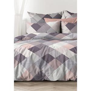 Комплект постельного белья  Пэчворк, Семейное Унисон. Цвет: разноцветный