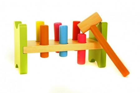 Деревянная игрушка  Забей гвоздик Viga