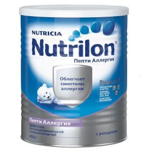 Молочная смесь  Пепти Аллергия 0-12 месяцев, 400 г Nutrilon