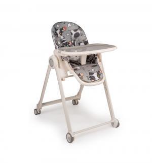 Стульчик для кормления  Berny Basic, цвет: grey Happy Baby