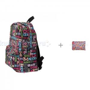 Рюкзак Хиппи с пеналом-сумочкой Colors Pouch 3D Bags