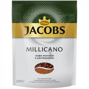 Кофе растворимый Monarch Millicano сублимированный с молотым 200 г Jacobs