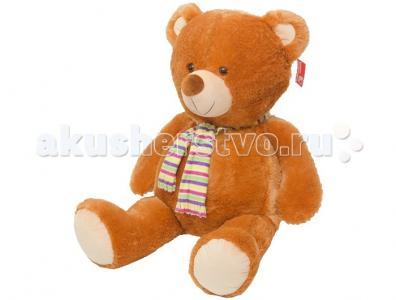 Мягкая игрушка  Медведь в шарфе большой, озвученный 110 см Нижегородская