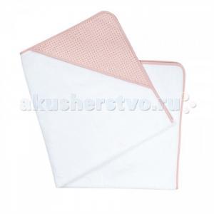 Полотенце Ma Jolie Fleur Белый с розовым капюшоном 100х100 см Candide